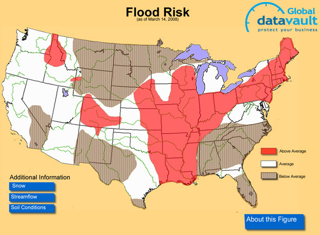 Natural Disaster Threat Maps Usa Target List - Us-disaster-map